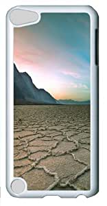 Apple iPod 5 Case and Cover -Salt Flats PC case Cover for iPod Touch 5 and Apple iPod 5 White