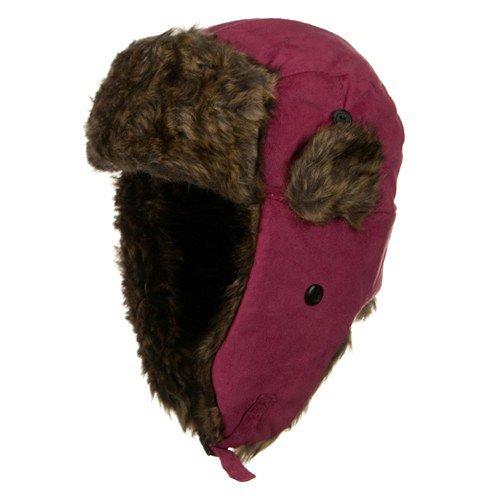 New Suede ML Winter Trooper Hat - Pink OSFM