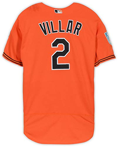 Jonathan Villar Baltimore Orioles Game-Used #2 Orange Jersey from Spring Training of the 2019 MLB Season - Fanatics Authentic Certified