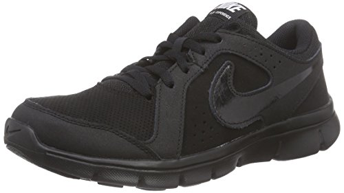 gs gs Schwarz 003 Course Chaussures Chaussures Noir Experience black Enfant De Nike Mixte Flex black black Leather qvtTTa