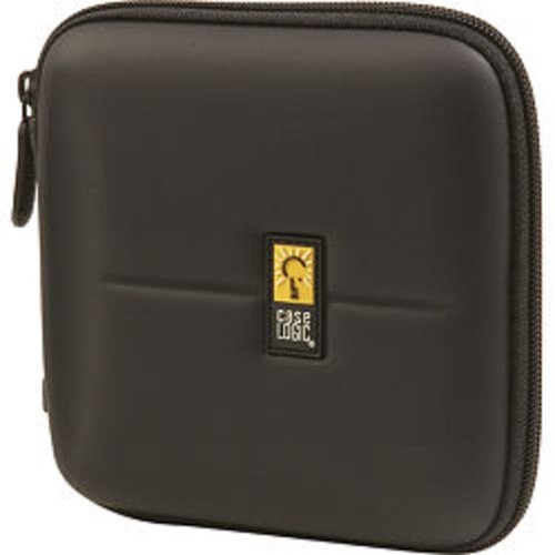 - Case Logic CDE-24 24 Capacity Heavy Duty CD Wallet (Black)