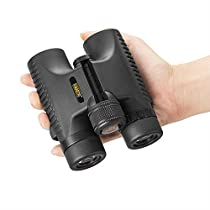 Emarth 10X26 Compact Binoculars for Adults Kids with BAK-4 Prisms Fully Multi-Coated Lens for Bird Watching Traveling Hunting Sport Concerts Surveillance