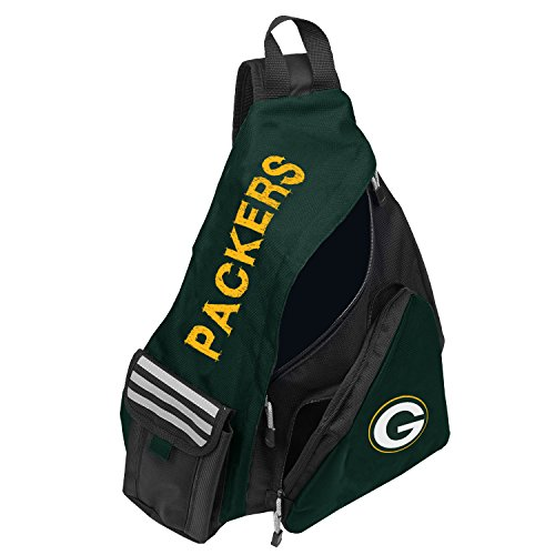Green Bay Packers Laptop - Officially Licensed NFL Green Bay Packers Leadoff Slingbag