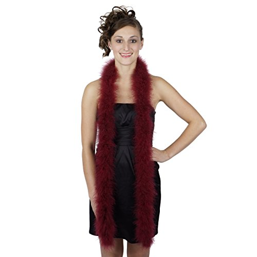 (ZUCKER Marabou Boa Medium Weight Solid Color -)
