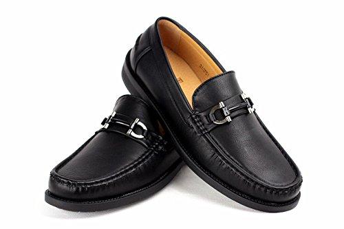 Zapatillas De Estar Por Casa Para Hombre Mocasines Mocasin Inteligentes De Diseño Trabajo Informal Talla Eu 34-40 Negro