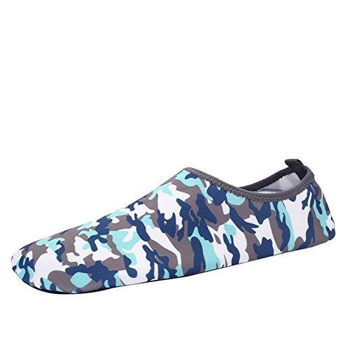 - NUWFOR Men Women Yoga Surf Outdoor Water Sport Diving Swim Beach Snorkeling Socks (Camouflage,US:9-9.5)