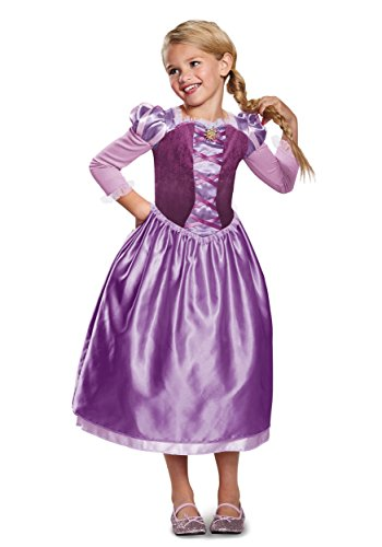 Rapunzel Day Dress Classic Costume, Purple, X-Small (3T-4T)