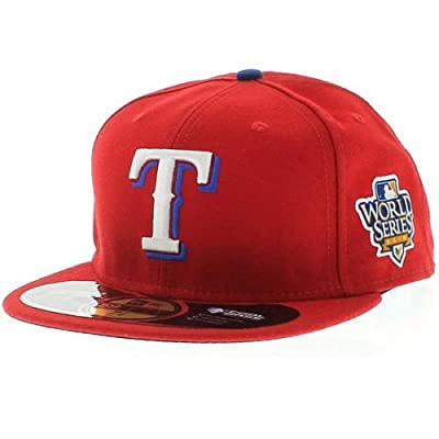 New Era Texas Rangers 2010 World Series On Field Hat