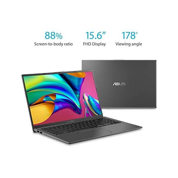 "ASUS F512DA-EB51 VivoBook 15 Thin and Light Laptop, 15.6"" Full HD, AMD Quad Core R5-3500U CPU, 8GB DDR4 RAM, 256GB PCIe… 3"