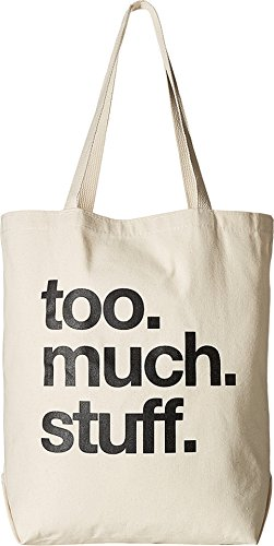 Dogeared Women's Too.much.stuff Tote Canvas/black Tote 5t0y300109100