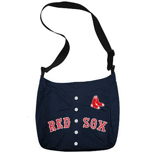 MLB Boston Red Sox Navy Blue Veteran Jersey Tote Bag (Veteran Jersey Tote Bag)