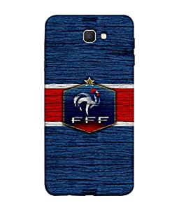 ColorKing Football France 16 Blue shell case cover for Samsung On7 Prime