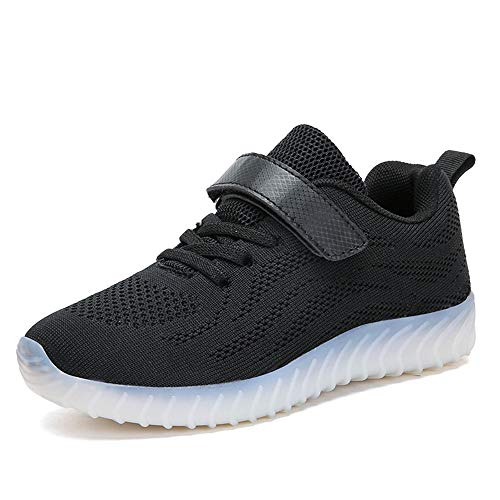 Top Scarpe Unisex per Low Sneakers Bambini ByBetty bambini Carica e Black3 Luminosi Led ragazzi Lampeggiante USB t5XFqnw