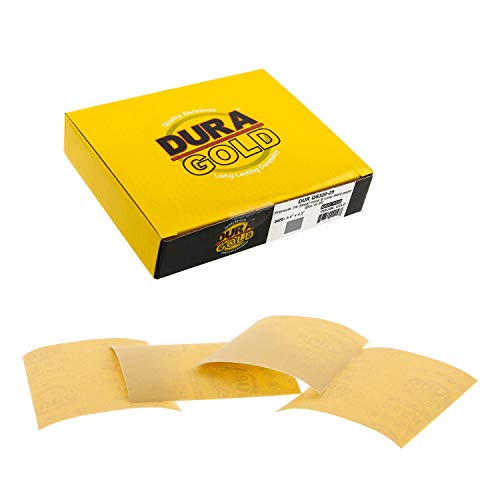25 Lijas Dura-Gold 14cm x 11.5cm Grano 320