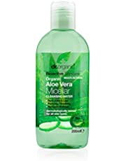 Dr Organic Aloe Vera Micellar Cleansing Water, 200 ml
