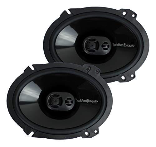Rockford Fosgate Punch P1683 6 x 8-Inches  Full Range 3-Way - F250 2005 Ford Speaker Box Sub