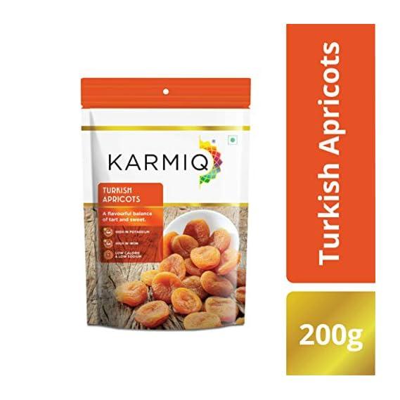 Karmiq Turkish Apricots Pouch, 200 g