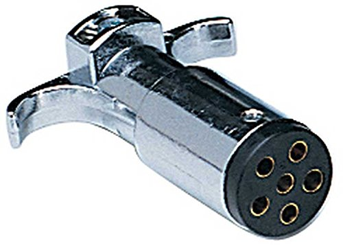 Hopkins 48445 6-Pole Round Trailer End Hopkins Towing Solution