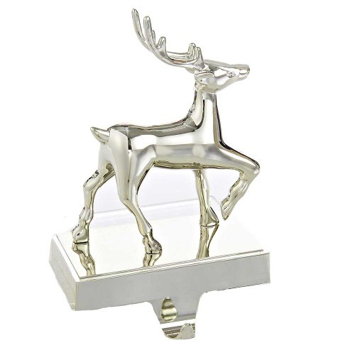 Kurt Adler Deer Stocking Holder Decor, 8-Inch