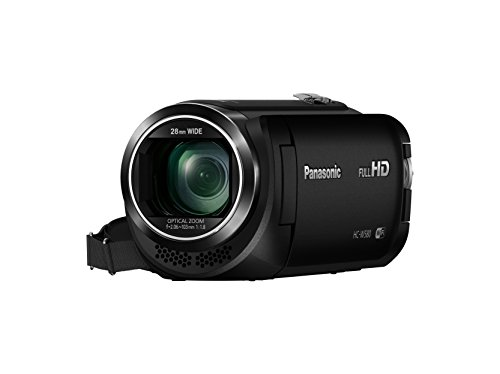 Panasonic HC-W580 Full HD Camcorder with Twin Camera - Black