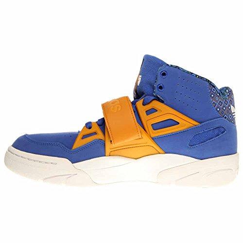 Adidas Mutombo Tr Blokkeren - Levendig Blauw / Goud-run Wit, 9,5 D Ons