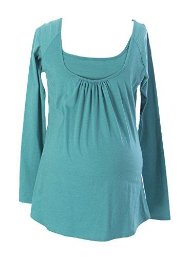Mothers en Vogue Maternity Women's Joelle Nursing Blouse X-Small Winter - Coupons Vogue