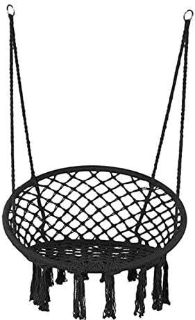 Lelly Q Hammock Chair Macrame Swing Nordic Style Handmade Hanging Chair Swing Chair