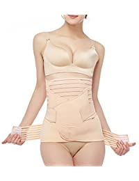 3 in 1 Postpartum Support - Recovery Belly Wrap Waist/Pelvis Girdles Belt Body Shaper