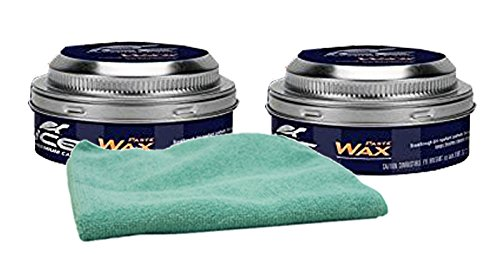 Turtle Wax ICE Premium Care Paste Polish Bundle with Microfiber Cloth (3 Items) (Paste Premium)