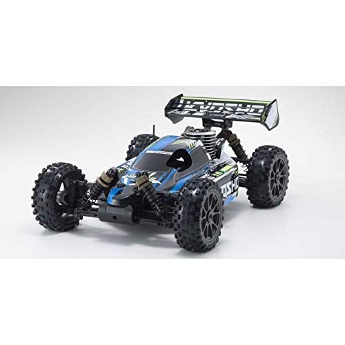 Off Road Big Bore - Kyosho 1/8 Scale Radio Control GP WD re-singubagi- Lady Set infa-no Neo 3.0 Color Type 1 Blue KT – 231P + with 33012t1