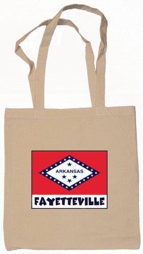 Fayetteville Arkansas Souvenir Tote Bag - Shopping Fayetteville Arkansas