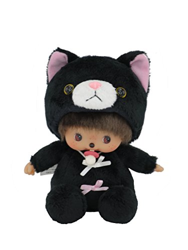 Monchhichi Plush (Monchhichi Cat Bebichhichi Black cat Plush)