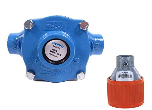 Hypro 6500C Roller Pump w/ 1321-0006 Quick Coupler (Bundle, 2 Items) (Sprayer Pto Pump)