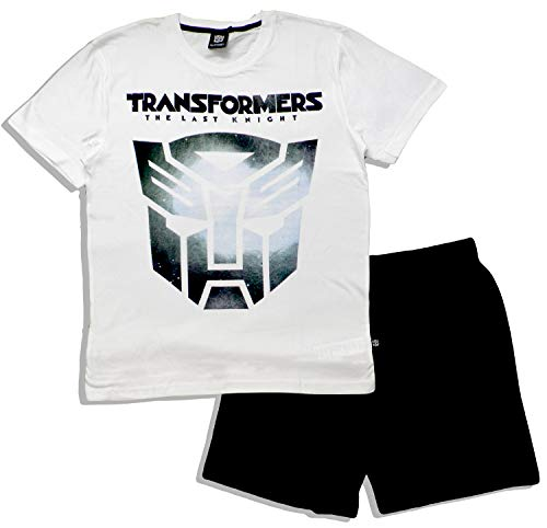White Uomo Transformers Pezzi Pigiama Due FPPqzwR