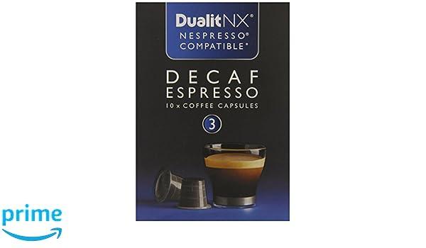 Dualit Nx Decaf Espresso, 0.28 Pound, 10 Coffee Capsules: Amazon.com: Grocery & Gourmet Food