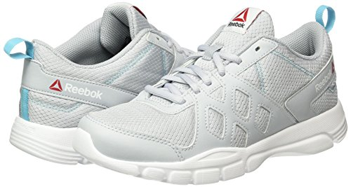 Donna Grey Sneaker cloud black Reebok Nine Blue Trainfusion White crisp Grigio BZwqtq