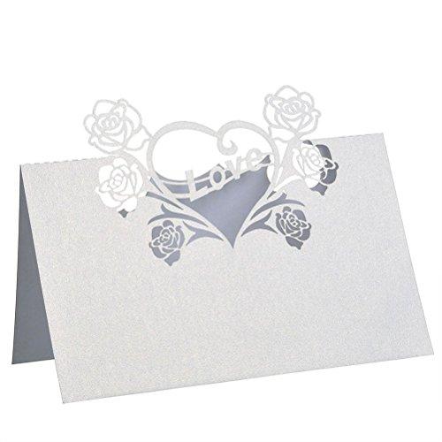 Wedding Name Cards Amazoncom
