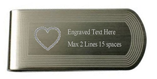 Pouch Cupid Money Text Love Own Heart in Engraved Clip Pxfx4HTw8q