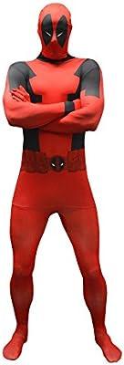 Morphsuits Disfraz de Disfraz básico de Deadpool Oficial tamaño ...