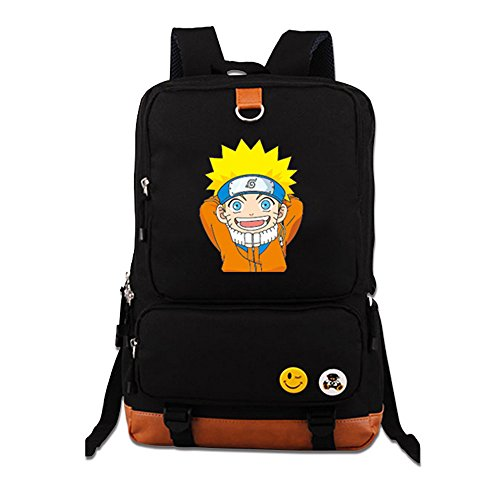 Siawasey Anime Naruto Cosplay Daypack Backpack Shoulder Bag School Bag (3)