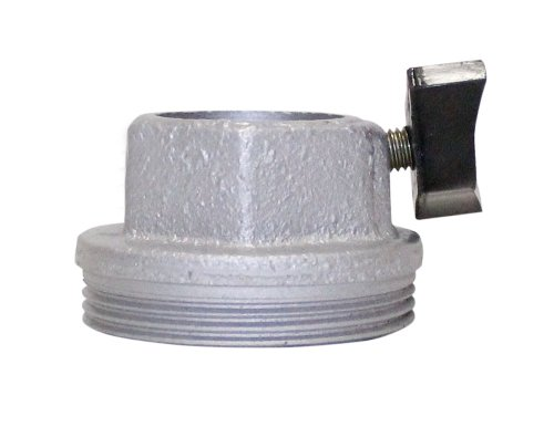 Rotary Screw Pump - Plews 99105 Replacement Bung Adapter with Thumb Screw for 55-303 Rotary Barrel Pump