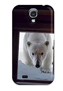 New Diy Design Polar Bear At The Window For Galaxy S4 Cases Comfortable For Lovers And Friends For Christmas Gifts