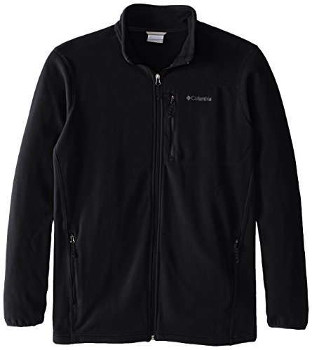 - Columbia Men's Big & Tall Cascades Explorer Full Zip Midweight Fleece Jacket, Black, Large/Tall