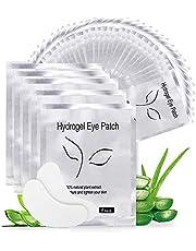 Eye Gel Pads, Aikvigss 50 Pairs Wimperpleisters Under Eye Gel Pads Eye Gel Patches kit, Lint Free Under Eye Gel Patches voor voor wimperextensions