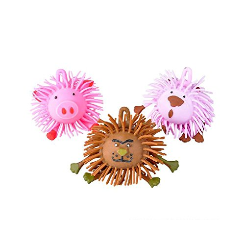 4'' Animal Puffer Ball (With Sticky Notes) by Bargain World