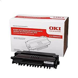 OKI 09004391 Laser Toner Cartridge - Black