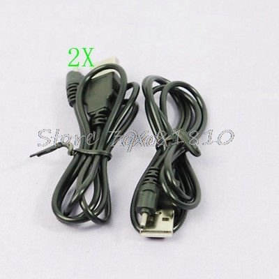 (Hariier 2 X USB Charger Cable for Nokia N73 N95 E65 6300 70cm Z17 Drop ship)