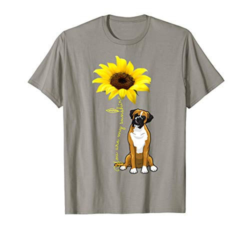 You Are My Sunshine Cute Boxer Dog Mom Mother Day Shirt ()