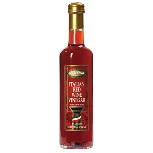 Mantova Vinegar Wine Red, 17 oz by Mantova