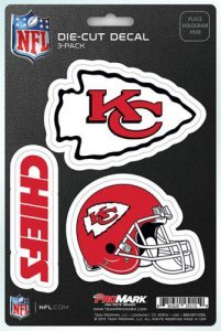 (NFL Kansas City Chiefs Team Decal,)